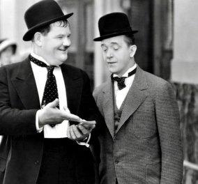 Vintage Story: Ο Χοντρός με μείον 63 κιλά και ο Λιγνός σε σπάνια τελευταία σπαρταριστή συνάντηση μαζί, λίγο πριν πεθάνει ο ένας! Πειράζονται και γελούν! (βίντεο)  - Κυρίως Φωτογραφία - Gallery - Video