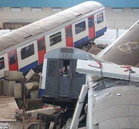 Εφιάλτης στο Λονδίνο: Κτίριο κατέρρευσε μέσα σε σταθμό του μετρό - Πάνω από 1.000 νεκροί & τραυματίες - Κυρίως Φωτογραφία - Gallery - Video