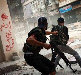 """Απειλείται η εκεχειρία στη Συρία - """"Υποδέχθηκαν"""" την κατάπαυση πυρός με πυροβολισμούς και εκρήξεις αυτοκινήτων - Κυρίως Φωτογραφία - Gallery - Video"""