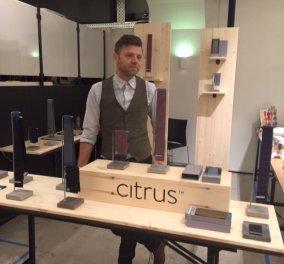 Αποκλ. Made in Greece οι γραβάτες Citrus Ties: Ο Στράτος με τις cool casual γραβάτες θα φτάσει σε κάθε ανδρική ντουλάπα σε όλο τον κόσμο  - Κυρίως Φωτογραφία - Gallery - Video