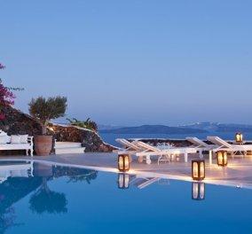 Στα 10 πιο sexy ξενοδοχεία στον κόσμο ένα ελληνικό: Σωστά μαντεύετε - Στην Σαντορίνη το πολυβραβευμένο Canaves Oia Suites - Κυρίως Φωτογραφία - Gallery - Video