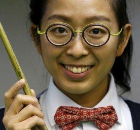 Αυτή η μάλλον ασχημούτσικη γυναίκα είναι η νέα Θεά του Snooker! Τι είναι αυτό;   - Κυρίως Φωτογραφία - Gallery - Video