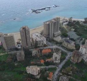 Βίντεο: Συγκλονιστικές εικόνες κατέγραψε drone από την πόλη-φάντασμα στην περιοχή της Αμμοχώστου  - Κυρίως Φωτογραφία - Gallery - Video