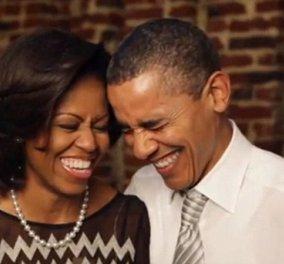 Δεν φαντάζεστε με πόσο έρωτα μίλησε ο Ομπάμα για την Μισέλ του: Δείτε τι της είπε ο πλανητάρχης- άντρας! (Βίντεο) - Κυρίως Φωτογραφία - Gallery - Video