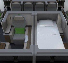 Δείτε αυτά τα αεροπορικά καθίσματα-«σουίτες»: Σας απογειώνουν με άνεση & πολυτέλεια - Κυρίως Φωτογραφία - Gallery - Video