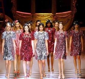 Dolce & Gabanna: Επίδειξη σαν παραμύθι στην Εβδομάδα Μόδας του Μιλάνου  - Κυρίως Φωτογραφία - Gallery - Video