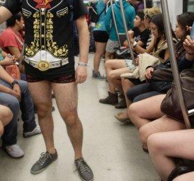 Βιντεάκι χαρούμενο: Με κιλοτάκια,στρινγκάκια ή σλιπ μπήκαν οι Μεξικάνοι στο μετρό! - Κυρίως Φωτογραφία - Gallery - Video
