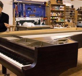 Μοναδικό – Επαναστατικό: Το πρώτο πιάνο με 102 αντί 88 πλήκτρα έφτιαξε Γάλλος μηχανικός – Φανταστικός ήχος  - Κυρίως Φωτογραφία - Gallery - Video