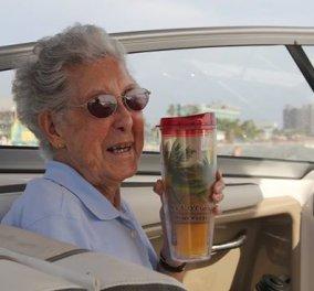 Story of the day: Η 90χρονη Νόρμα νίκησε τον καρκίνο με τα ταξίδια - ''Ζήστε κάθε μέρα σαν να είναι η τελευταία σας''  - Κυρίως Φωτογραφία - Gallery - Video