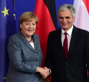 Αυστηρό μήνυμα Μέρκελ για Αυστρία & Σκόπια: Όλοι η Ευρώπη να δρα από κοινού - Να μην αποκλείονται κράτη - μέλη! - Κυρίως Φωτογραφία - Gallery - Video