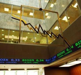 Ιστορικό κραχ στο Χρηματιστήριο: Πτώση κοντά στο 6% -Λόγω πολιτικής αβεβαιότητας - Κυρίως Φωτογραφία - Gallery - Video