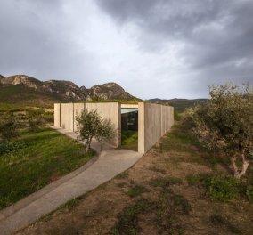 Βραβείο Haüser σε μία απίθανη κατοικία στα Μέγαρα με υπογραφή 2 Eλλήνων αρχιτεκτόνων - Θαυμάστε την  - Κυρίως Φωτογραφία - Gallery - Video
