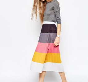 15 στιλάτες midi φούστες που θα φορέσετε την άνοιξη & θα είστε μοδάτες! - Κυρίως Φωτογραφία - Gallery - Video