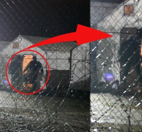 Η Bild ανέβασε ένα βίντεο-σοκ: Συνοριοφύλακας στα Σκόπια κλωτσάει πρόσφυγα! - Κυρίως Φωτογραφία - Gallery - Video