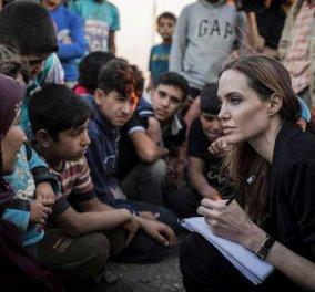 Φτάνει απόψε η Αντζελίνα Τζολί στην Ελλάδα & πάει Λέσβο στο πλευρό των προσφύγων    - Κυρίως Φωτογραφία - Gallery - Video