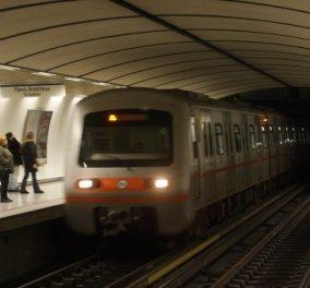 Άντρας έπεσε στις γραμμές του Μετρό στους Αμπελόκηπους - Σκοτώθηκε από ηλεκτροπληξία - Κυρίως Φωτογραφία - Gallery - Video