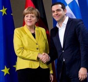 Η Μέρκελ ακόμα πιο φίλη της Ελλάδας: Δεν μπορούμε οι 27 να αφήσουμε μια χώρα μόνη με το πρόβλημα  - Κυρίως Φωτογραφία - Gallery - Video