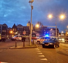 Συναγερμός στο Άμστερνταμ: Πυροβολισμοί και σύλληψη υπόπτου σε σταθμό τρένου - Κυρίως Φωτογραφία - Gallery - Video