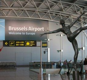 Κλειστό μέχρι και αύριο το αεροδρόμιο των Βρυξελλών  - Κυρίως Φωτογραφία - Gallery - Video