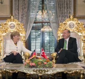 "H ""Die Welt"": Πως & τι ο ""Σουλτάνος"" Ερντογάν συμφώνησε με την Μέρκελ για το προσφυγικό   - Κυρίως Φωτογραφία - Gallery - Video"