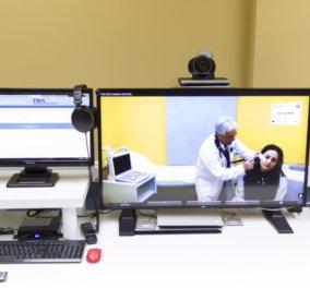 43 μονάδες Τηλεϊατρικής δημιούργησε ο όμιλος ΟΤΕ - Ενώνει Κέντρα Υγείας νησιών του Αιγαίου με Νοσοκομεία   - Κυρίως Φωτογραφία - Gallery - Video