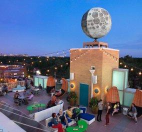 6 ξενοδοχεία στον πλανήτη γη, με  ρομπότ - ρεσεψιονίστ, διαστημικά λόμπι & κρεβάτια που  αψηφούν τη βαρύτητα - Κυρίως Φωτογραφία - Gallery - Video