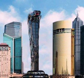 Ένα θαύμα της αρχιτεκτονικής δεσπόζει στην Ασία - Συγκλονιστικός ουρανοξύστης σε σχήμα κόμπρας δημιούργημα Ρώσου αρχιτέκτονα - Κυρίως Φωτογραφία - Gallery - Video