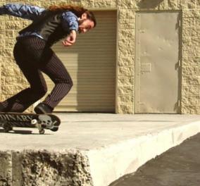 Το βίντεο της ημέρας με άνδρα να κάνει τα πιο τρελά κόλπα με skateboard που έχουμε δει! - Κυρίως Φωτογραφία - Gallery - Video