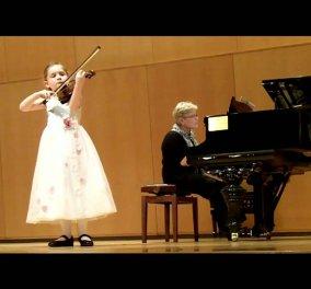 Βίντεο: 9χρονο παιδί - θαύμα παίζει βιολί και καθηλώνει τους πάντες - Δείτε την - Κυρίως Φωτογραφία - Gallery - Video