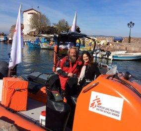 To Eirinika & το News 247 στη Μυτιλήνη: Ο ψαράς & ο Νορβηγός σώζουν χιλιάδες πρόσφυγες στην πατρίδα του Μυριβίλη - Κυρίως Φωτογραφία - Gallery - Video
