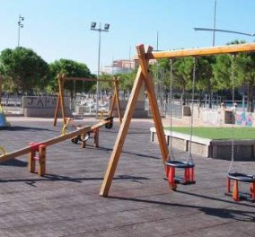 Good News: 12 νέες παιδικές χαρές εγκαινιάζονται σε όλες τις γειτονίες του Πειραιά - Κυρίως Φωτογραφία - Gallery - Video