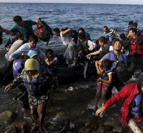 Ξεπέρασε τους 8.000 αριθμός των μεταναστών και προσφύγων στα νησιά του βορείου Αιγαίου - Κυρίως Φωτογραφία - Gallery - Video