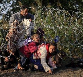 Νέα δίοδο βρήκαν πρόσφυγες & λαθρομετανάστες: Περνούν στην Ελλάδα από τα σύνορα της Βουλγαρίας - Κυρίως Φωτογραφία - Gallery - Video