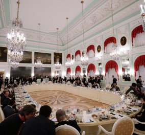 Tο μενού στη Σύνοδο Κορυφής πολύ φίνο: Γλώσσα με βασιλικό, μάνγκο & φραμπουάζ - Κυρίως Φωτογραφία - Gallery - Video