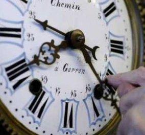 Θερινή ώρα από τα ξημερώματα της Κυριακής - Γυρίζουμε τα ρολόγια μια ώρα μπροστά - Κυρίως Φωτογραφία - Gallery - Video