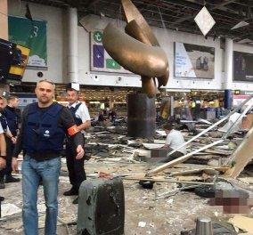 Από λάθος του ραδιοταξί των Βρυξελλών δεν φορτώθηκαν βόμβες 50 κιλών με τους τρομοκράτες  - Κυρίως Φωτογραφία - Gallery - Video