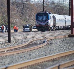 Συναγερμός στις ΗΠΑ για εκτροχιασμό τρένου με 341 επιβάτες - Συγκρούστηκε με εκσκαφέα - Πληροφορίες για νεκρούς - Κυρίως Φωτογραφία - Gallery - Video