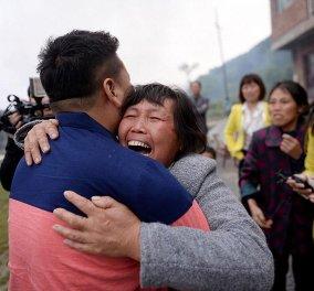 Σπαρακτικές εικόνες μιας μάνας που ξαναβρίσκει το γιο της μετά από 22 χρόνια - Βίντεο  - Κυρίως Φωτογραφία - Gallery - Video