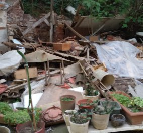Βρήκαν 6,5 τόνους σκουπίδια σε σπίτι ζεύγους ρακοσυλλεκτών στη Θεσσαλονίκη - Φώτο - Κυρίως Φωτογραφία - Gallery - Video