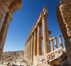 Φρικιαστική ανακάλυψη στην αρχαία Παλμύρα – Μαζικός τάφος με γυναικόπαιδα – Βασανίστηκαν άγρια από τους Τζιχαντιστές - Κυρίως Φωτογραφία - Gallery - Video
