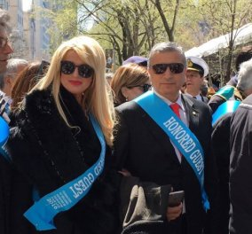 Στην παρέλαση της Νέας Υόρκης και το ζεύγος Γιώργου - Μαρίνας Πατούλη  - Κυρίως Φωτογραφία - Gallery - Video