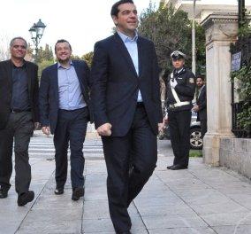 Δείπνο για άντρες: Ο Αλέξης Τσίπρας με τα αφεντικά της Bild & τον Νίκο Παππά - Κυρίως Φωτογραφία - Gallery - Video