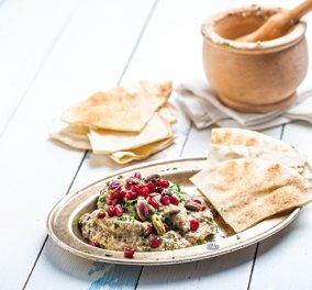 Άπαιχτη συνταγή από την Αργυρώ: Νηστίσιμη αραβική μελιτζανοσαλάτα - Κυρίως Φωτογραφία - Gallery - Video