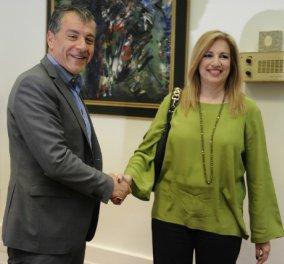 ''Λίμνη'': Το νέο κόμμα που δημιούργησαν ο Σταύρος Θεοδωράκης & η Φώφη Γεννηματά - Κυρίως Φωτογραφία - Gallery - Video