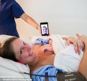 Συγκλονιστικές φωτό: 31χρονη έβγαλε μόνη το μωρό της από την κοιλιά της!  - Κυρίως Φωτογραφία - Gallery - Video