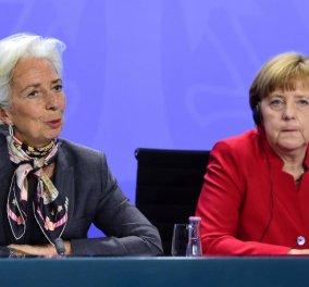 Ηχηρή απάντηση Μέρκελ στον Τσίπρα: Αναγκαία η συμμετοχή του ΔΝΤ στο πρόγραμμα - Κυρίως Φωτογραφία - Gallery - Video