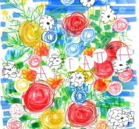 Μια καλημέρα με τα φανταστικά σκίτσα της Βάσως Τρίγκα: Τα σχεδιάζει στο iphone !!! Φωτο - Κυρίως Φωτογραφία - Gallery - Video