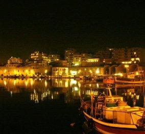 Μια υπέροχη νυχτερινή βόλτα στο πανέμορφο λιμάνι του Ηρακλείου - (βίντεο) - Κυρίως Φωτογραφία - Gallery - Video