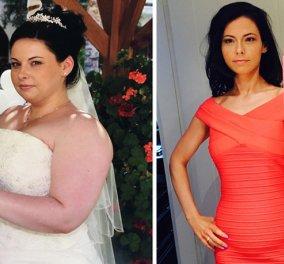 Στο γάμο της ξεχείλιζαν τα κιλά από το νυφικό - 1 χρόνο μετά έμεινε μισή με γυμναστική & διατροφή    - Κυρίως Φωτογραφία - Gallery - Video