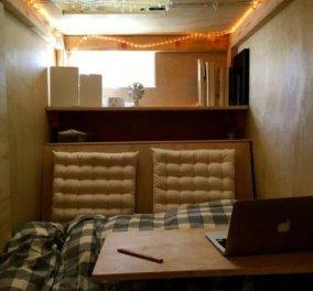 Απίθανο story: 25χρονος φοιτητής πληρώνει 500 δολάρια το μήνα για να ζει σε ξύλινο κουτί.. μέσα σε σπίτι φίλων του  - Κυρίως Φωτογραφία - Gallery - Video